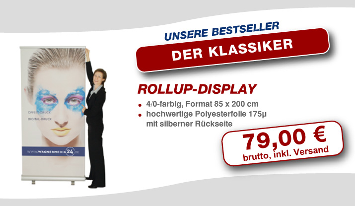 Rollup Banner Display günstig